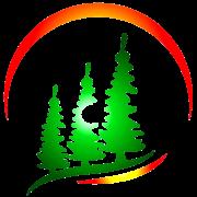 Peaceful Pines Evergreen Logo